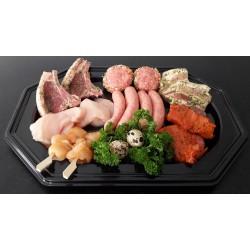 Gourmet schotel met lamsvlees voor 2 personen